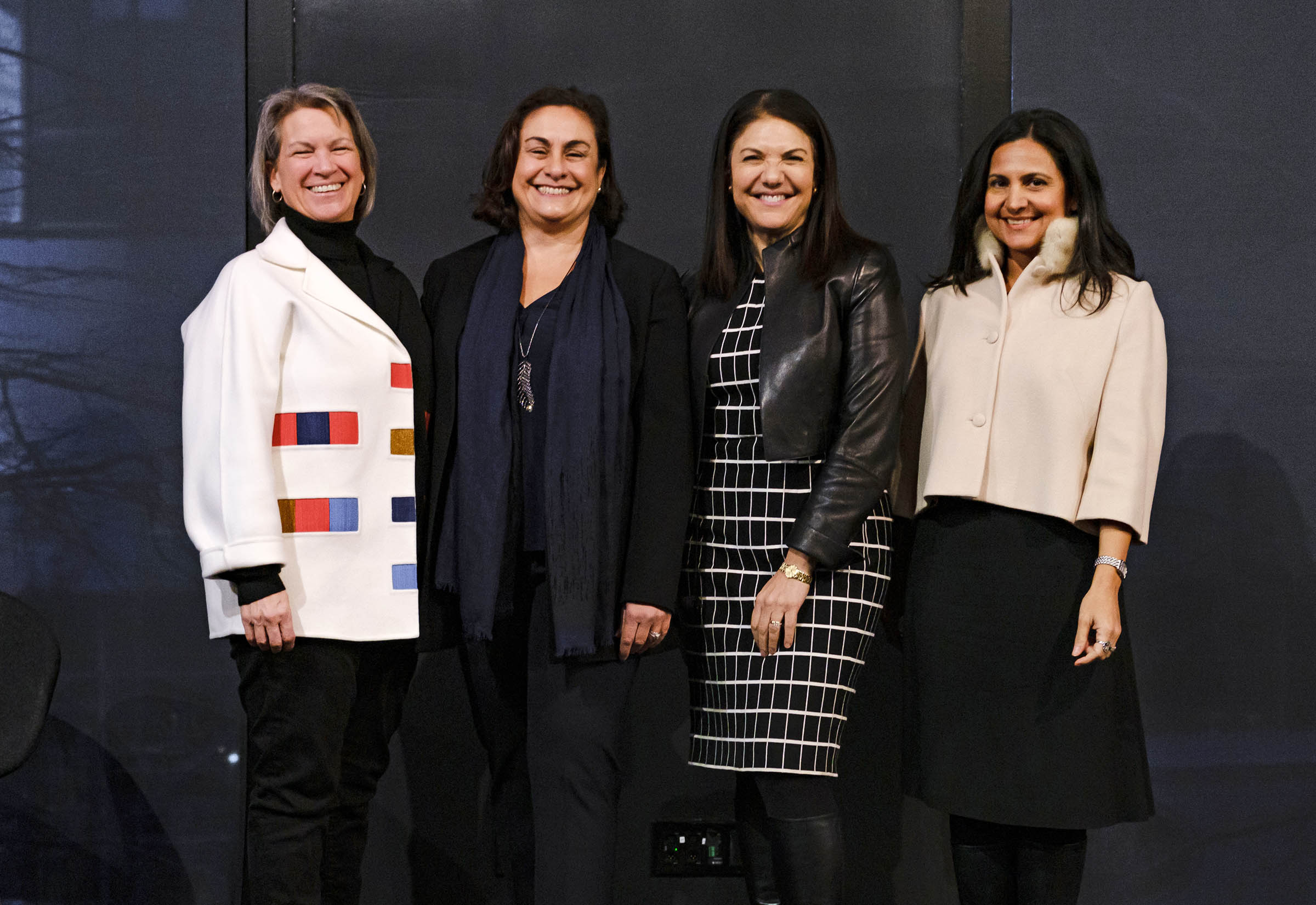 From left: Suni Harford, President of UBS Asset Management, Alexis Alexanian, independent producer and former president of New York Women in Film & Television, Mary Ellen Iskenderian, CEO of Women's World Banking; and Carineh Martin, Co-Founder of RAD